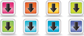 Illustrator webdesign icons download buttons
